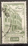 Lebanon  1960  SG 636    Fine Used - Libanon