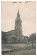 Saint-Bonnet-de-Joux - L'église - Francia