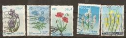Lebanon 1964  Flowers Various Values   Fine  Used - Libanon