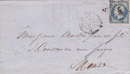 616 -  NAPOLEON 14 -  PARIS  A  COUTANCES AUX FORGES - 1849-1876: Classic Period