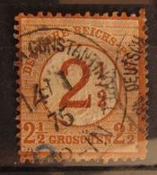 Deutsche Post Türkei 1875, Vorläufer DR Mi. 29, Value 100,- - Offices: Turkish Empire