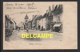 DD / 70 HAUTE SAÔNE / PESMES / GRANDE-RUE / ANIMÉE / 1906 - Pesmes