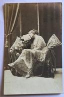 DONNA IN POSA PER FOTO 1917 VIAGGIATA FP - Femmes