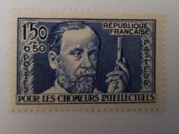 Timbre Neuf  1936 France N°333   Effigie De Joseph Pasteur Pour Les Chômeurs Intellectuels Sans Charnière - Nuovi