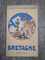 Bretagne Côte Sud - Chemin De Fer De Paris à Orléans - 1924 - Tourism Brochures