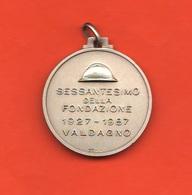 Valdagno Medaglia 60° Associazione Combattenti E Reduci Sezione G. Cracco - Italia