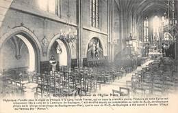 Boulogne Billancourt Intérieur église Notre Dame - Boulogne Billancourt