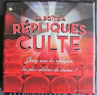 JEU QUIZZ D'APERO - LA BOITE A REPLIQUES CULTES - Marabout 2012 - Juegos De Sociedad