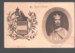 Bouillon - Souvenir De Bouillon - Armes De La Ville - Godefroid De Bouillon - Bouillon