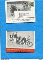 MOTOS+ Tricycle Balayeur Sut-Enveloppe Cartonnée Voyagé 1958 Intérieur Pub Biolactyl +moto Pernette - Motorbikes