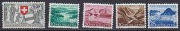 Switzerland 1952 Pro Patria 5v  ** Mnh (43150) - Pro Patria