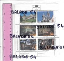Feuille De 6 Vignettes / Forme Timbre - FECAMP (76) Palais BENEDICTINE - Publicités