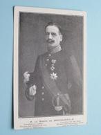 M. Le BARON De BROCQUEVILLE ( Minister / Président ) Anno 19?? ( Zie Foto Details ) ! - Hommes Politiques & Militaires