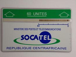 Télécarte - Ministère Des Postes Et Télécommunications - République Centreafricaine - Central African Republic