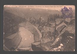 Bouillon - La Semois Et Les Batteries Basses Vues De La Tour - 1921 - Cachet Armes De La Ville De Bouillon - Bouillon