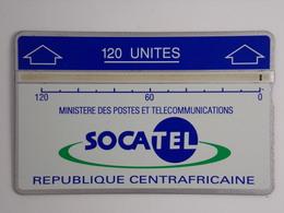 Télécarte - Ministère Des Postes Et Télécommunications - République Centreafricaine - Centraal-Afrikaanse Republiek