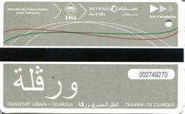 Tramway De Ouargla  (Algérie) - Tramways