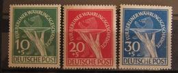 Berlin Währungsgeschädigte 1949, Mi. 68-70 (*) Without Gum - Ungebraucht