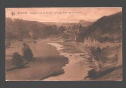 Bouillon - Nouvelle Route De Corbion - Passage D'eau Vers Cordemois - 1912 - Bouillon