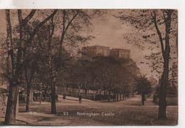 CPA.Royaume-Uni.Nottingham. Castle.animé Personnages - Nottingham