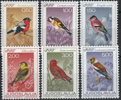 Yougoslavie 1177/82 ** - Songbirds & Tree Dwellers