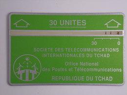 Télécarte - REPUBLIQUE DU TCHAD - Office National Des Postes Et Télécommunications - Tschad