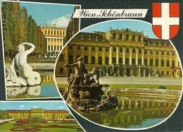 Wien (Vienna, Austria) Schloss Schonbrunn, Ansichten, Vedute, Vues, Views, Affrancatura Meccanica Rossa - Castello Di Schönbrunn