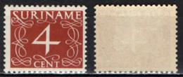 SURINAME - 1948 - CIFRA - MH - Suriname