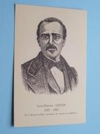 Jean-Etienne LENOIR 1822 - 1900 Né à Mussy-la-Ville ( Grumiaux ) Anno 19?? ( Zie Foto Details ) ! - Célébrités