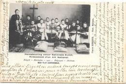 Malines NA53: Relèvement D'un Art National, Mlle Van Costenoble 1902 ( Dentellières ) - Malines
