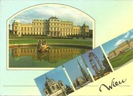Wien (Vienna, Austria) Schloss Belvedere, Kunsthistorisches Museum, Stephansdom, Riesenrad, Schloss Schonbrunn - Belvedere