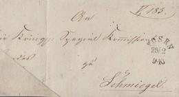 Preussen Brief Posen 28.2. Stempel Ansehen !!!!!!!!!! - Preussen