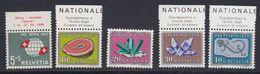 Switzerland 1959 Pro Patria 5v  ** Mnh (43154A) - Pro Patria