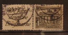 Berlin Zusammendruck, Mi. W1 O GST Used, Value 13,- - [5] Berlino