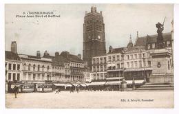 Dunkerque - Place Jean Bart Et Beffroi - Dunkerque