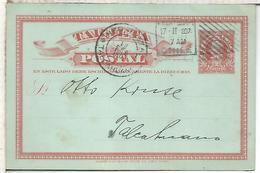 CHILE ENTERO POSTAL COLON SANTIAGO A TALCAHUANO 1907 - Chili
