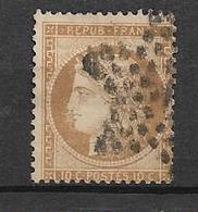 France Timbre De 1870 Siège De Paris  N°36 Oblitéré (cote 110€) - 1870 Assedio Di Parigi