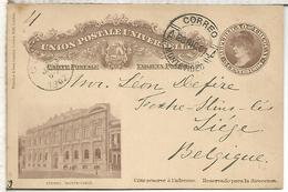 URUGUAY ENTERO POSTAL ATENEO 1901 - Uruguay