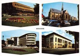 Boulogne Billancourt Lycée Poste Renault 4cv 4L Peugeot - Boulogne Billancourt