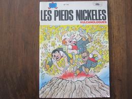 LES PIEDS NICKELES VULCANOLOGUES N 116 JEUNESSE JOYEUSE 3 TRIMESTRE 1985 - Pieds Nickelés, Les