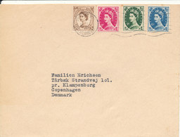 Great Britain Cover Sent To Denmark 19-12-1961 Good Franked - 1952-.... (Elizabeth II)