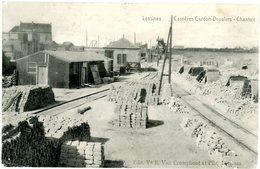 Lessines. Lessen. Carrières Cardon-Droulers. Chantier. Circulé En 1922. Steengroeven. Werf. Gelopen In 1922. - Lessines