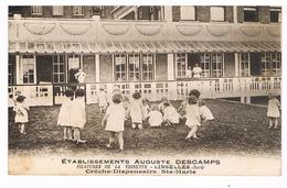 Linselles - Crèche-Dispensaire - établissements Descamps - Francia