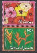"""Polynésie YT 821 & 822 """" Fleurs """" 2007 Neuf** - Polynésie Française"""