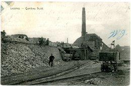 Lessines. Lessen. Carrières Notté. Wagonnets. Circulé En 1908. Steengroeven Notté. Wagens. Gelopen In 1908. - Lessen