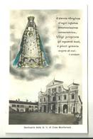 """4273 """"SANTUARIO DELLA B.V. DI CREA MONFERRATO""""LA MADONNA E PREGHIERA DI F. GHISOLFI CART. POST. ORIG. SPED.1930 - Vergine Maria E Madonne"""