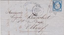 713 -  CERES 60 -  PARIS  A  ELBEUF - 1849-1876: Classic Period