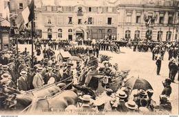 D72  Fêtes Du Mans 3 Juillet 1904 Concours De Pompes Le Départ Du Général - Sapeurs-Pompiers