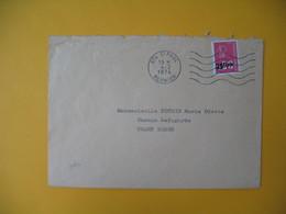 Lettre De La Réunion CFA  1974  N° 393  Marianne De Béquet De Saint Paul Pour Champ Borne - Reunion Island (1852-1975)