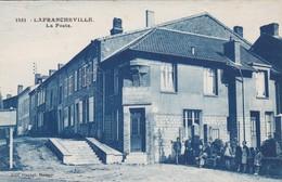 CPA LAFRANCHEVILLE LA POSTE - Francia